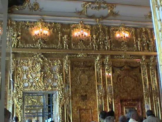 State Hermitage Museum and Winter Palace: The Amber Room