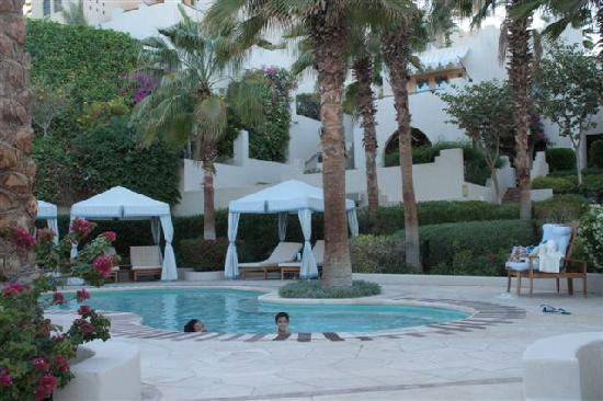 Four Seasons Resort Sharm El Sheikh: The children's pool and our room