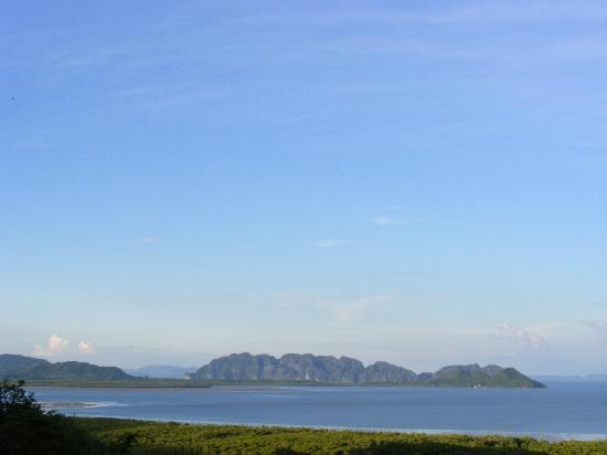 Chaw Ka Cher Tropicana Lanta Resort: viewpoint auf einer Anhöhe im Inselinneren mit Blick gen Osten