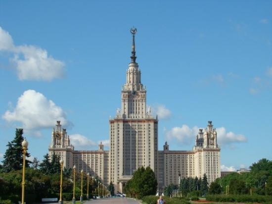 Lomonosov Moscow State University (MGU): The Moscow State University - one of the Stalin's seven sisters