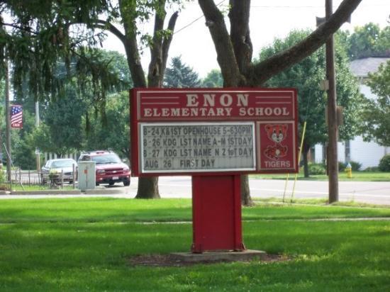 Enon, OH: My Elementary School