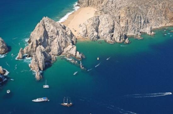 Playa del Amor : Vista Panorámica Cabo San Lucas