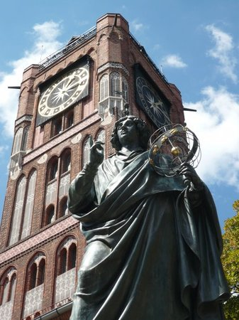 Monument of Nicolaus Copernicus