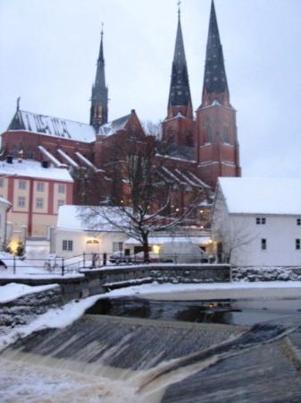 Uppsala Domkyrka: The Fyris river in Uppsala