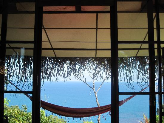 Anamaya Resort & Retreat Center: view from bed in bali house