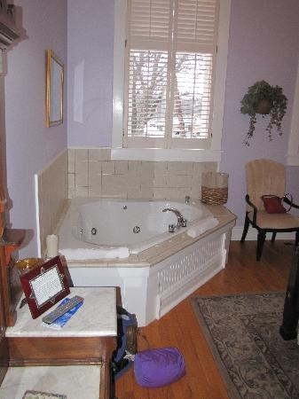 School House Bed & Breakfast : Jacuzzi in the Dick and Jane Room.