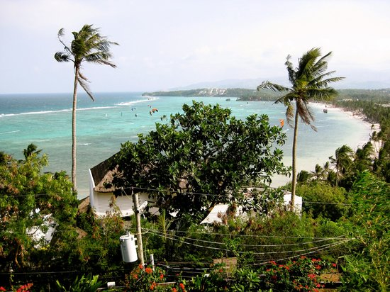 Heavens Gate Boracay: view from the balcony