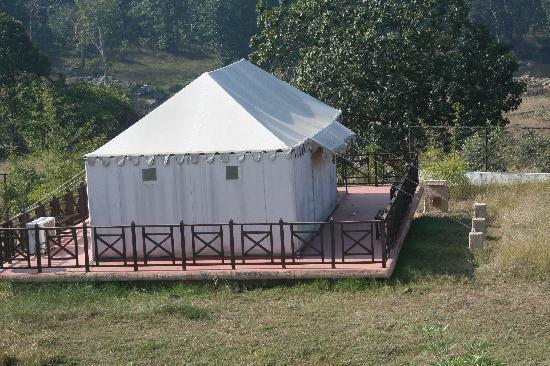 Mapple Bundela Tiger Retreat: tent