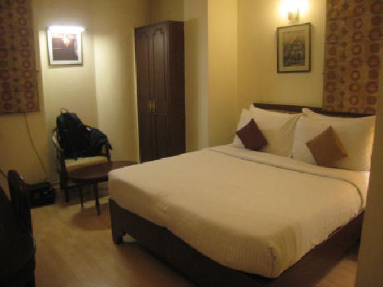Hotel Clark International: ベッドは寝心地◎