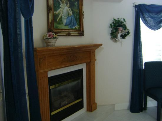 Zaballa House: Fireplace