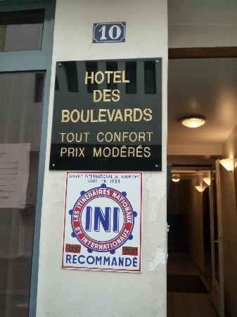 Hotel Des Boulevards : all is good