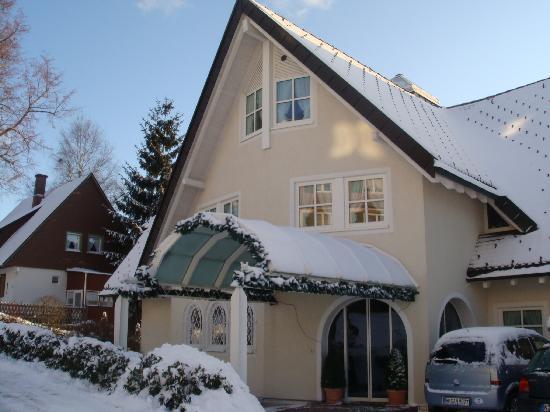 Aparthotel Sunside : hotel in winter