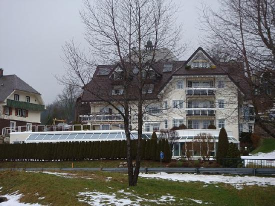 Aparthotel Sunside : view from the lake