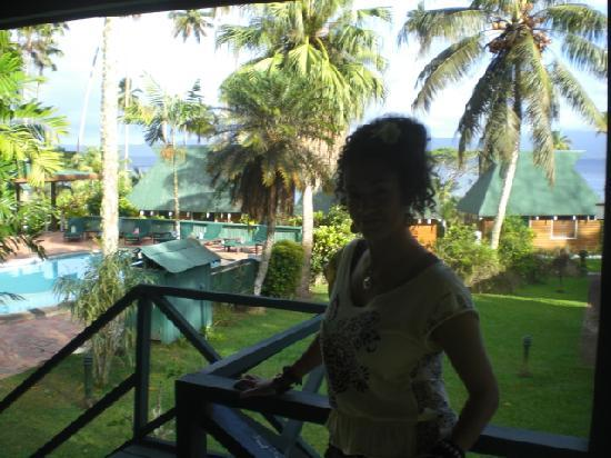 Daku Resort: The Gorgeous view from our room