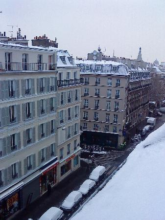 Hotel Diana: View from hotel (winter)