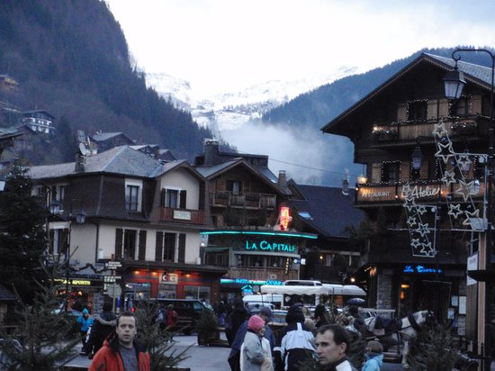 Simply Morzine - Chalet Madeleine: View from the valley