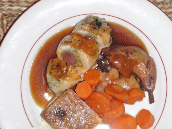 Simply Morzine - Chalet Madeleine: One fine looking meal
