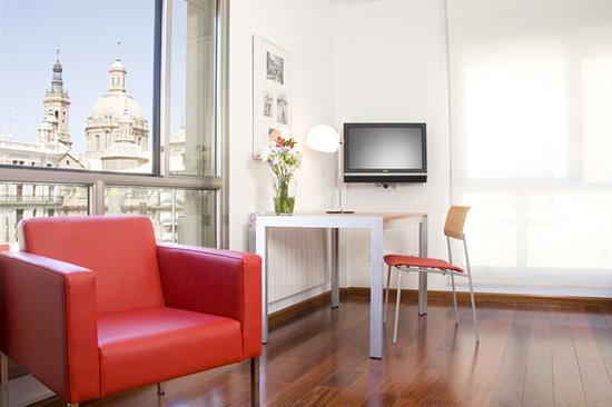 Apartamentos Sabinas El Pilar: Vistas a la Basílica del Pilar