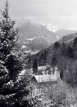 Hotel Liberty Mont Blanc: En descendant du Betex