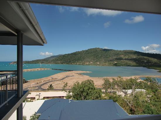 Peppers Airlie Beach: Vue du balcon