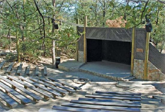 UCLA Lake Arrowhead Conference Center: Outdoor Amphitheater