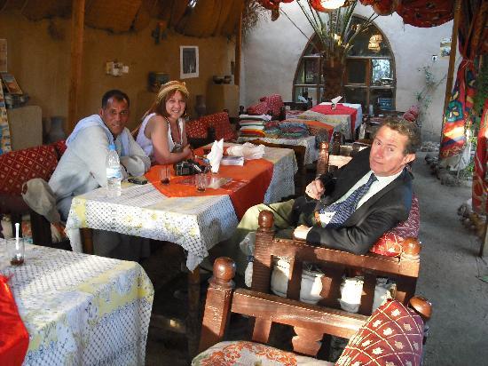 Nur el-Gurna Hotel: Tavolo da Pranzo All'Aperto