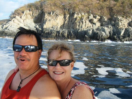 Casa Adriana: Enjoying the fishing trip!