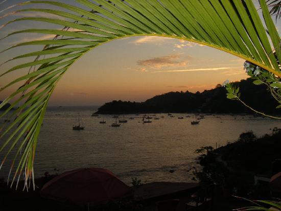 Casa Adriana: View from the balcony !