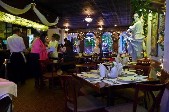 Il Cortile: The restaurant