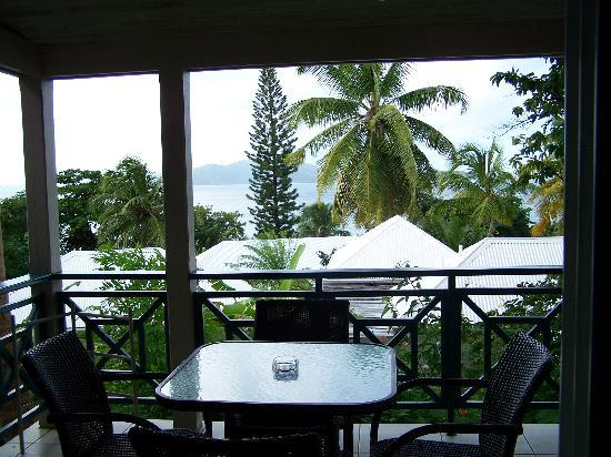 Sugar Mill Hotel : View from our balcony