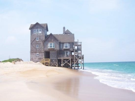 "‪‪Rodanthe‬, ‪North Carolina‬: The actual house from the ""Nights In Rodanthe"" movie (book by Nicholas Sparks)‬"