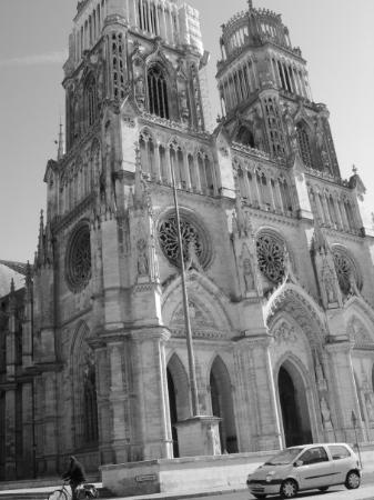 Orléans, France : Orleans cathedral..