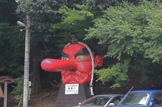Mt. Kurama: kurama -tengu (japanese long- nosed goblin)