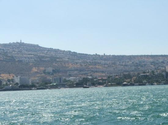 Tiberias, İsrail: Traversata del Lago di Tiberiade