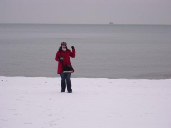 Lake Michigan: Winke winke