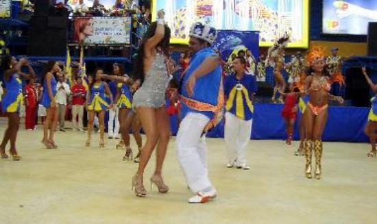 Carnival Rehearsals Rio Brazil
