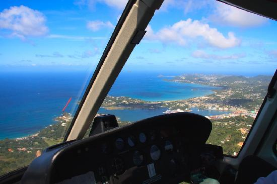 View From Helicopter Transfer Picture Of Sandals Grande
