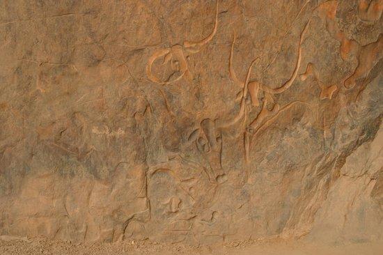 Djanet, Algeria: la vache qui pleur
