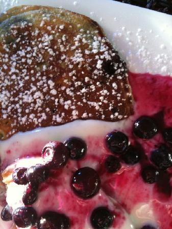 Treghan Luxury Lodge: yummy pancakes