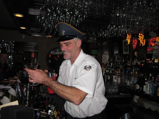 Jimmy's HideAway: the bartender