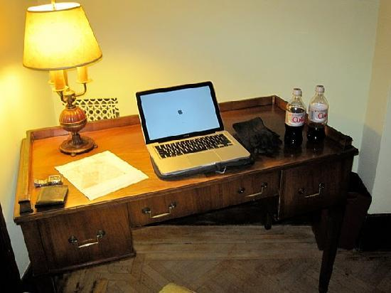 Desk set up in room Picture of Mount Morris House New