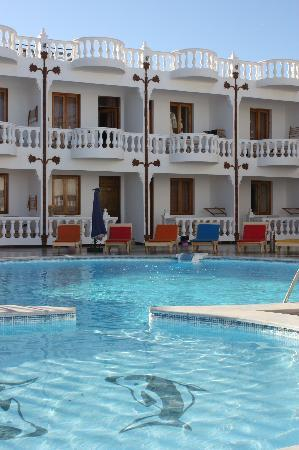 Seaview Hotel Dahab: pool and rooms