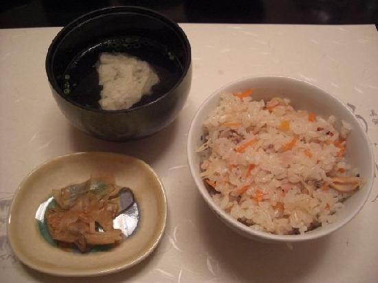 Umidori: 夕食は本当に美味しかった。