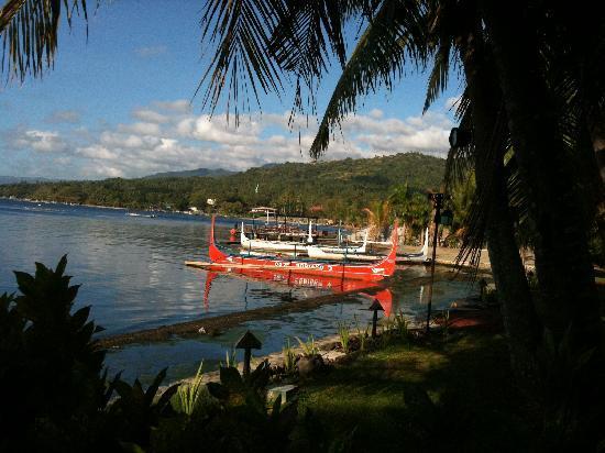 Club Balai Isabel: View from the villa