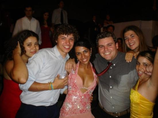 Campinas, SP: Michelle's graduation party