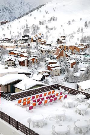 Club Med Les-Deux Alpes : Village