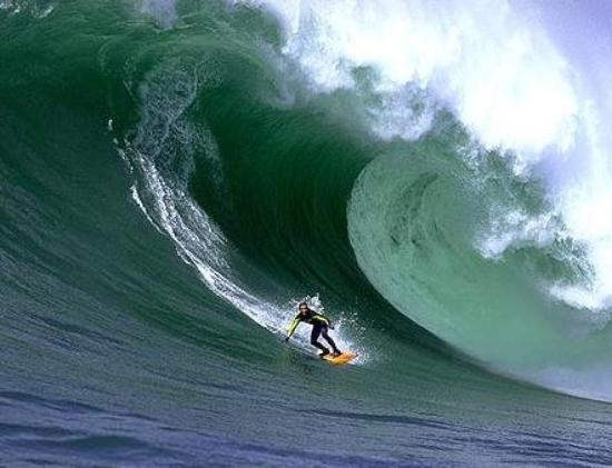 Maverick's big wave, half moon bay.