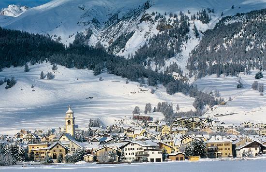 Club Med Saint Moritz Roi Soleil: Ski resort