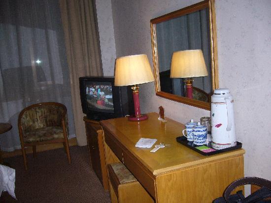 Shanghai Hong Gang Hotel: 部屋内部です