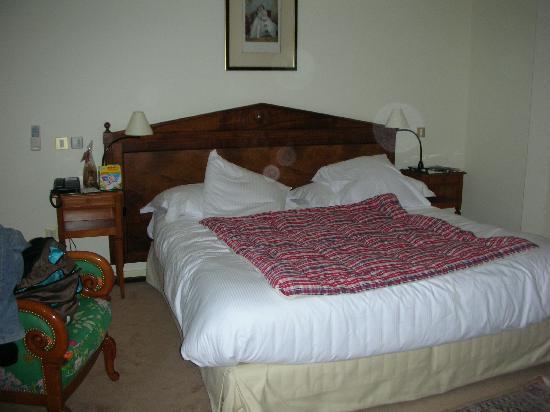 Le Clos Saint Vincent : Very comfy bed
